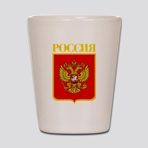 Russian Federation COA Shot Glass